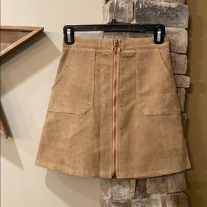 NWOT Chicwish corduroy mini skirt